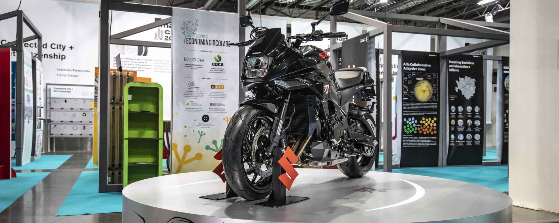 Suzuki Katana: ponte tra Digital e Design week a Milano