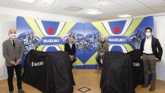 Suzuki: le GSX-R 1000R di Lucchinelli e Uncini sotto ai veli
