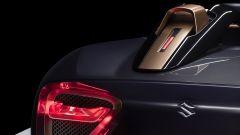 Suzuki Misano: la pinna posteriore
