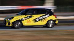 Suzuki Rally Italia Talent 2019: la prova in pista