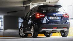 Suzuki S-Cross: lunga 4,30 metri nasconde un baule da 430 litri ampliabili sino a 1.250 litri