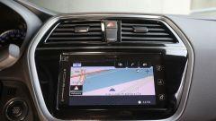 Suzuki S-Cross: schermo da 8 pollici con navigatore integrato