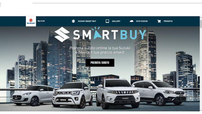 Suzuki Smart Buy: soluzione veloce e conveniente per comprare l'auto online
