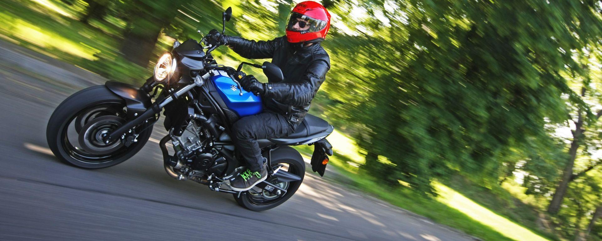 Suzuki SV650 2016: la prova