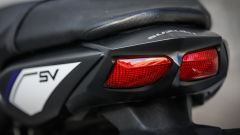 Suzuki SV650 ABS, il codino filante integra le luci a LED