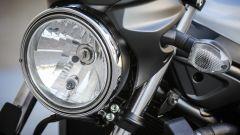 Suzuki SV650 ABS il faro tondo è un classico