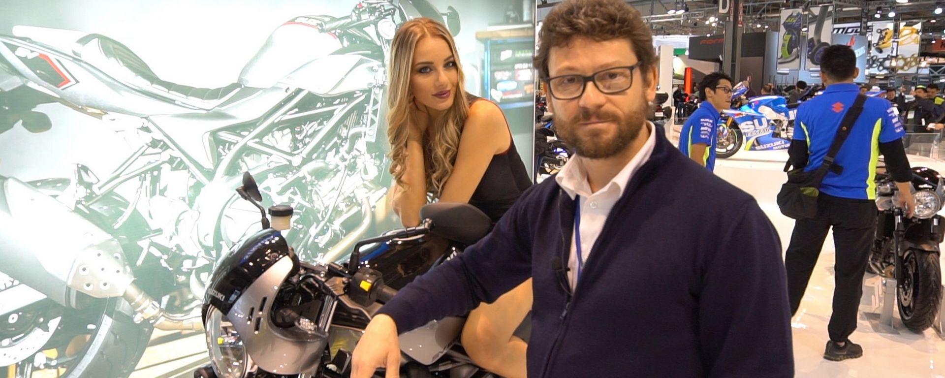 Suzuki SV650X a Eicma 2017: ecco la SV café racer [VIDEO]