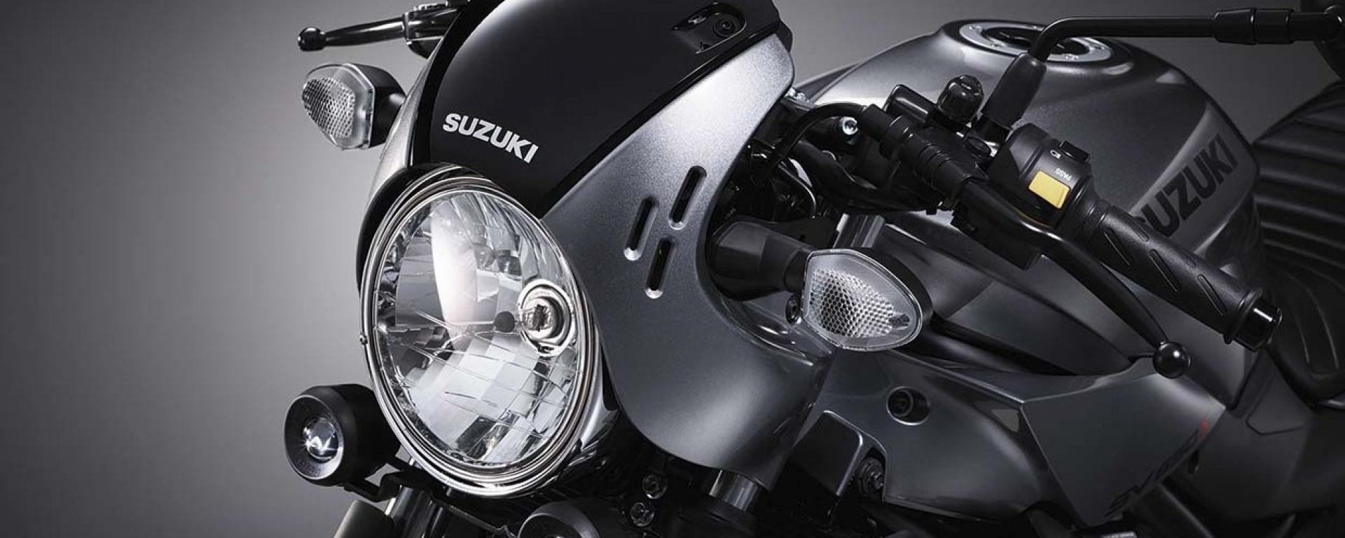 Suzuki SV650X, debutto al Salone di Tokyo