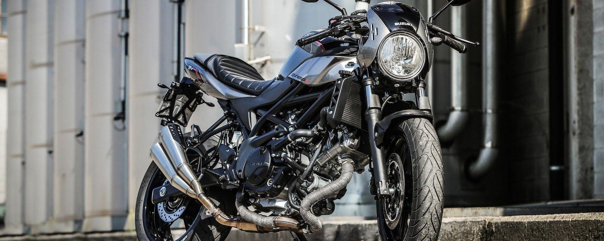 Suzuki SV650X vince l'Autotrader best bike awards 2018