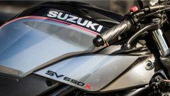 Suzuki SV650X-Ter: dettaglio del fianchetto