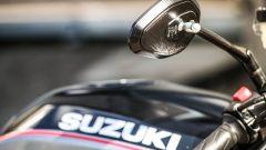 Suzuki SV650X-TER: gli spiecchietti in ergal solo leggeri ed eleganti