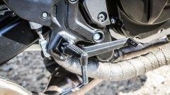 Suzuki SV650X-Ter: il bendaggio termico sugli scarichi