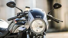Suzuki SV650X-Ter: il gruppo ottico anteriore