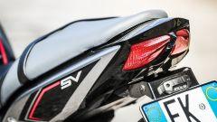 Suzuki SV650X-Ter: il gruppo ottico posteriore