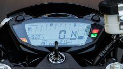 Suzuki SV650X-Ter: il quadro strumenti digitale