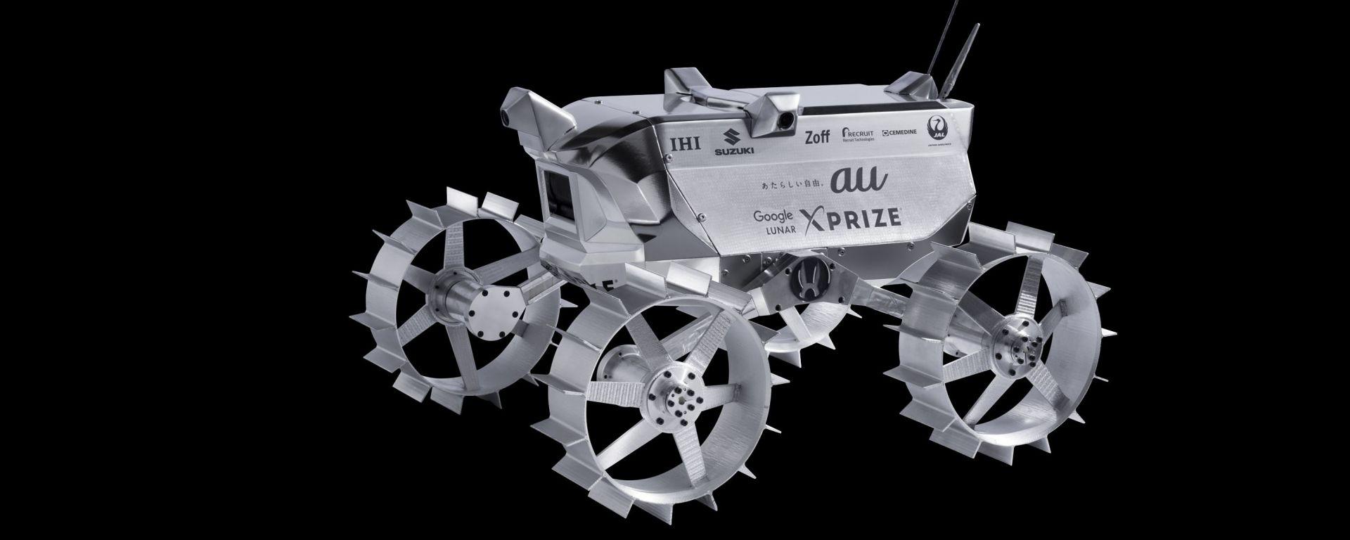 Suzuki svilupperà il sistema di trazione integrale per un rover lunare che parteciperà al Google Lunar Xprize