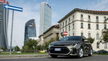 Suzuki Swace Hybrid, 4,3 l/100 km in città