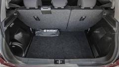 Suzuki Swift 1.0 Boosterjet S Hybrid: il bagagliaio passa da 265 a 947 litri