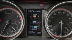 Suzuki Swift 1.0 Boosterjet S Hybrid: l'indicatore del sistema ibrido