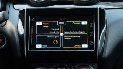 Suzuki Swift 1.2 Hybrid Top, il display dell'infotainment