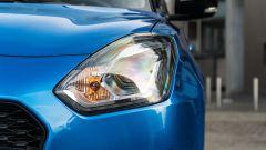 Suzuki Swift 1.2 Hybrid Top, il gruppo ottico anteriore