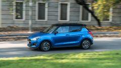 Suzuki Swift 1.2 Hybrid Top, la prova su strada