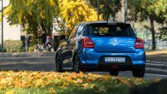 Suzuki Swift 1.2 Hybrid Top, un momento del test drive