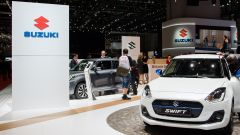 Suzuki Swift 2017, Salone di Ginevra 2017, vista frontale