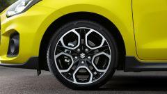 Suzuki Swift e Swift Sport Hybrid: i cerchi in lega leggera da 17