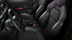 Suzuki Swift e Swift Sport Hybrid: i sedili sportivi della compatta giapponese