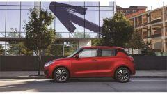Suzuki Swift e Swift Sport Hybrid: il profilo originale dell'auto