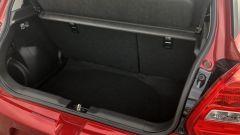 Suzuki Swift e Swift Sport Hybrid: il vano bagagli
