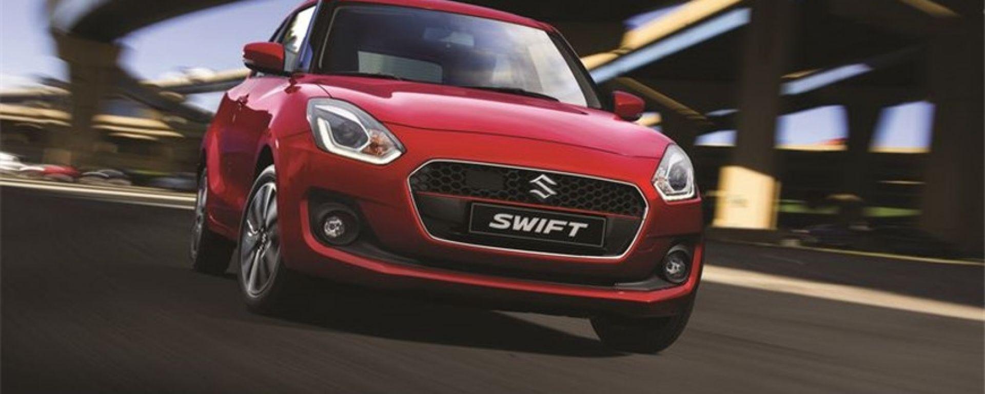 Suzuki Swift e Swift Sport Hybrid: la 1.2 con motore da 90 CV