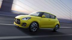 Suzuki Swift e Swift Sport Hybrid: visuale anteriore