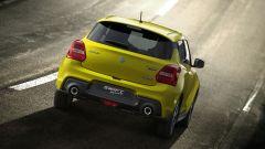 Suzuki Swift e Swift Sport Hybrid: vuna vista dinamica posteriore