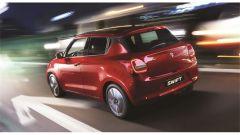 Suzuki Swift e Swift Sport Hybrid:una vista da dietro