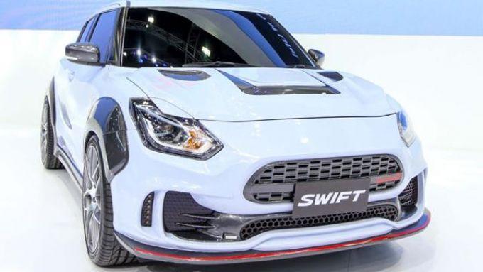 Suzuki Swift Etreme Concept vista di 3/4 frontale