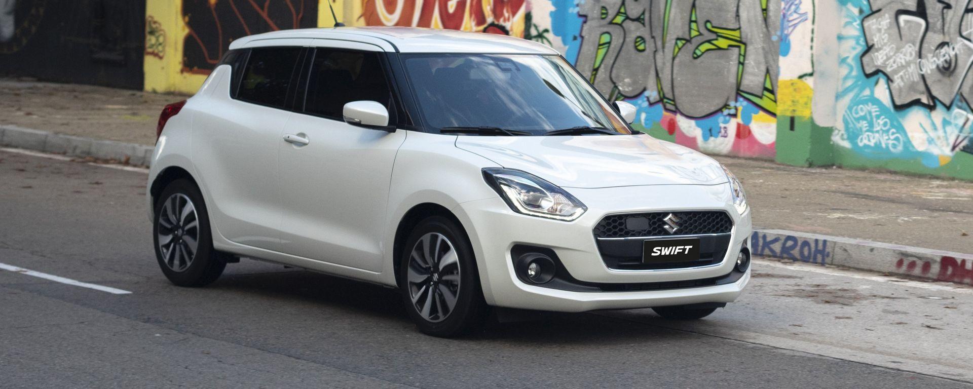Suzuki Swift Hybrid 1.0 Boosterjet: la prova dell'economy-run