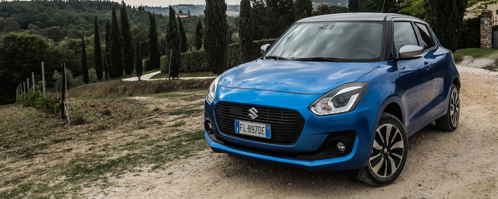 Suzuki Swift Hybrid 4WD AllGrip: unica sotto i 4 metri