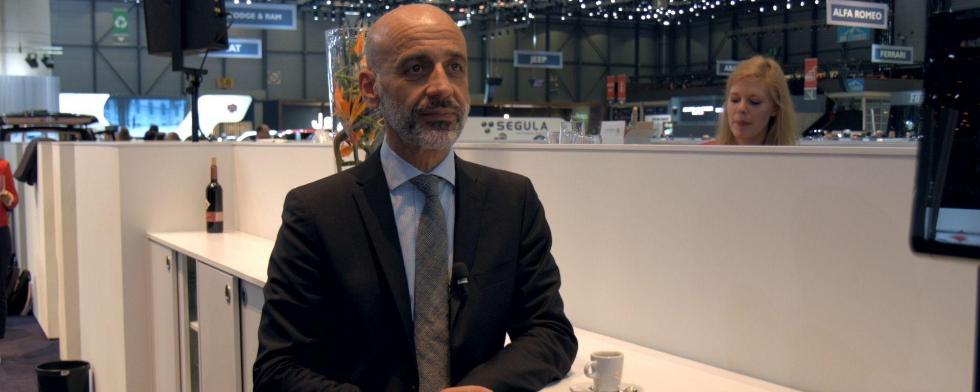 Suzuki Swift, Salone di Ginevra 2017, intervista dal Salone, Massimo Nalli
