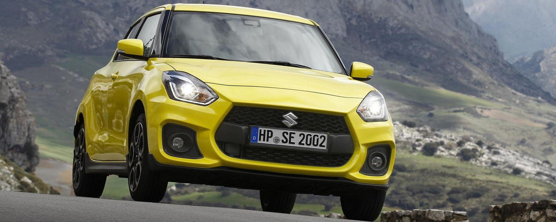 Suzuki Swift Sport 2018: più leggera mette il turbo