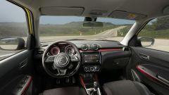 Suzuki Swift Sport Hybrid: gli interni