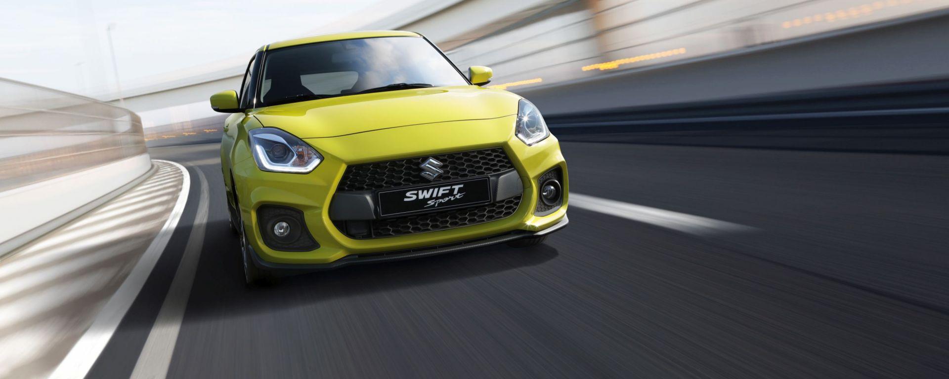 Suzuki Swift Sport Hybrid in esterna