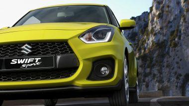 Suzuki Swift Sport Hybrid: particolare anteriore