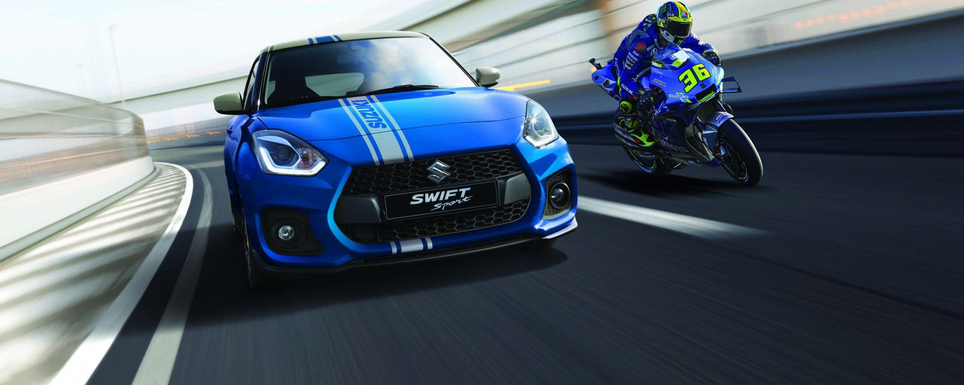 Suzuki Swift Sport Hybrid World Champion Edition: solo 7 esemplari