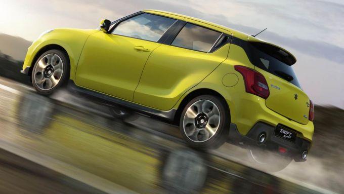 Suzuki Swift Sport, l'ibrido a 12 Volt