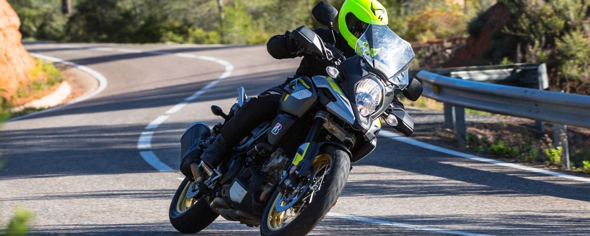 Suzuki V-Strom 1000, debuttano le versioni Feel More e Globe Rider