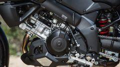 Suzuki V-Strom 1000 XT 2017, bicilindrico a V di 90°