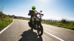 Suzuki V-Strom 1000 XT 2017, la protezione aerodinamica soddisfa