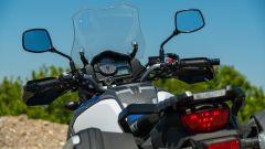 Suzuki V-Strom 1000 XT, il gruppo ottico posteriore
